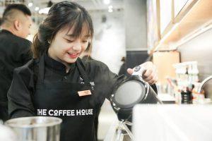 Nhân viên cofee shop
