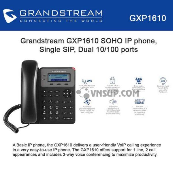bán GXP1610 miễn phí vận chuyển, dien thoai ip grandstream, đại lý Grandstream, đại lý GXP1610, Điện thoại grandstream, điện thoại Grandstream GXP1610 HCM, giá GXP1610, grandstream da nang, grandstream ha noi, grandstream ho chi minh, gxp1610, GXP1610 Đà Nẵng, GXP1610 Hà Nội, GXP1610 Việt Nam, mua GXP1610 giá rẻ, nơi cung cấp GXP1610, phân phối grandstream GXP1610