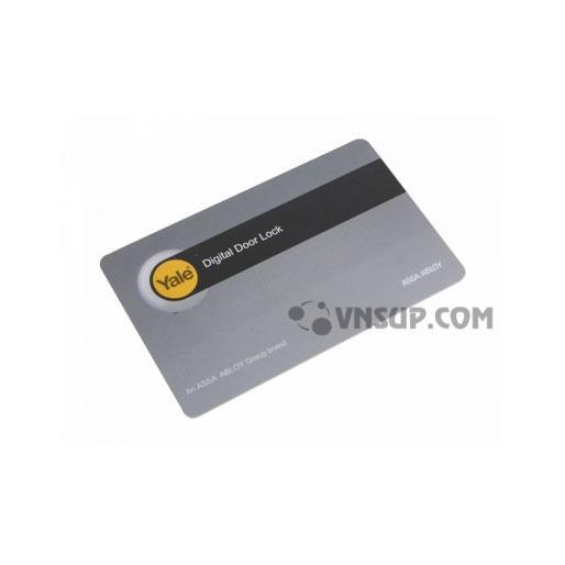 Thẻ từ không tiếp xúc, dùng cho khóa điện tử hoặc hệ thống Yale. Dùng cho trường hợp thêm thẻ từ quản lý, mất thẻ từ, thay thẻ từ mới khóa cửa Yale