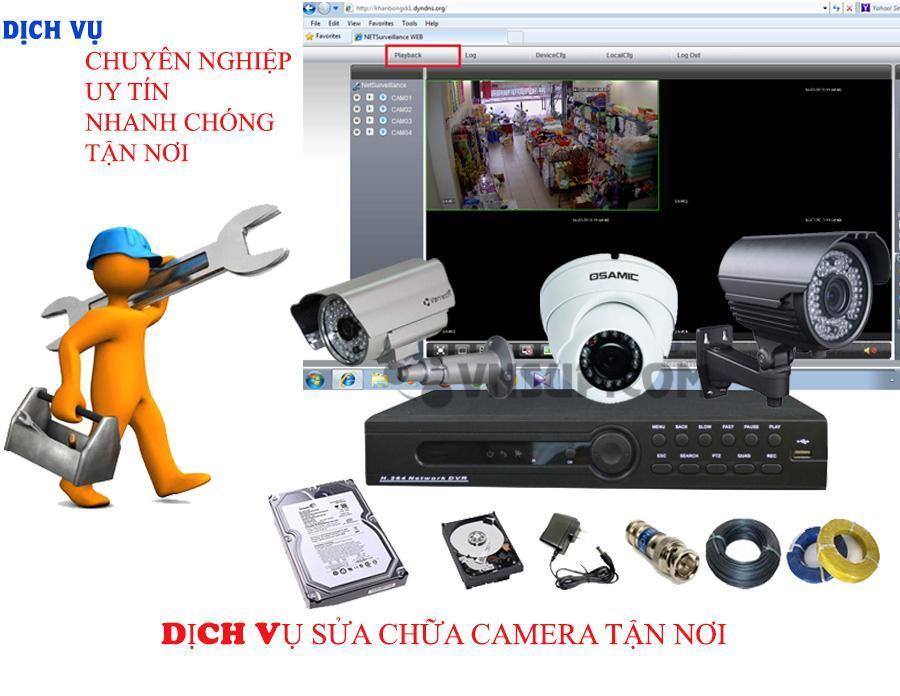 Dịch vụ sửa chữa camera quan sát tại Quy Nhơn - NgọcThiên Supply