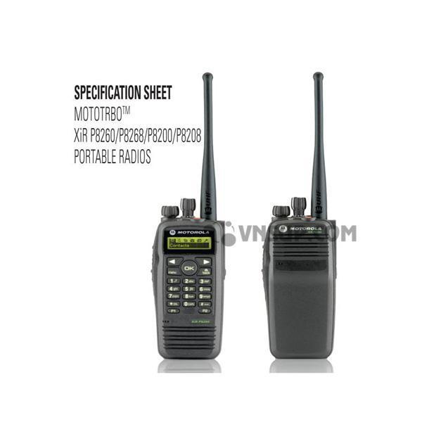 Bộ Đàm Motorola XIR P8260