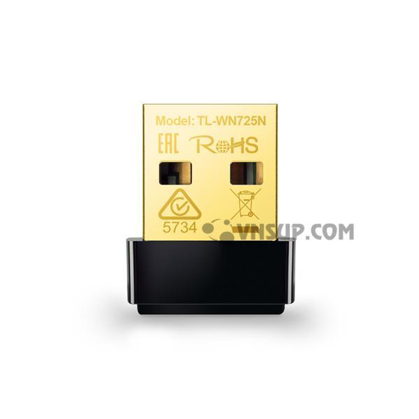 Bộ chuyển đổi USB Nano chuẩn N TL-WN725N
