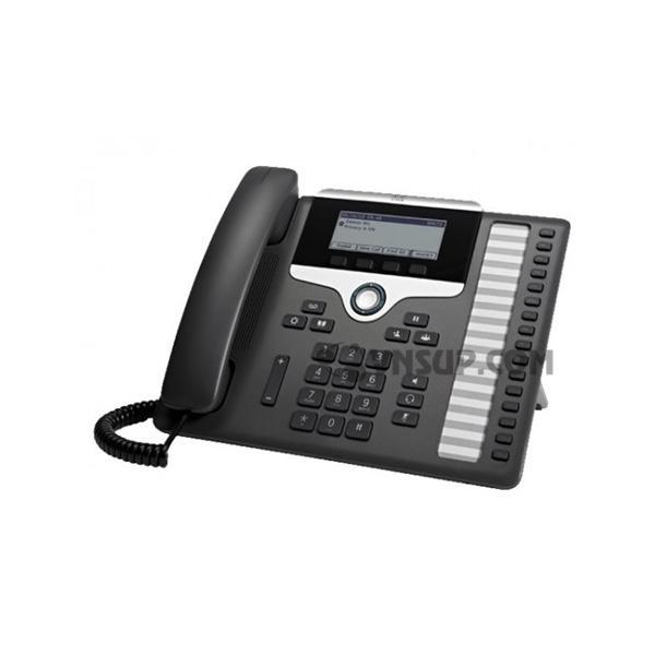 Điện thoại IP Cisco CP-7861 w / 16 dòng & Open-SIP