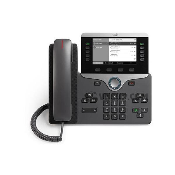 Điện thoại IP Cisco CP-8811 w / 5 Dòng màn hình Open-SIP & Grayscale