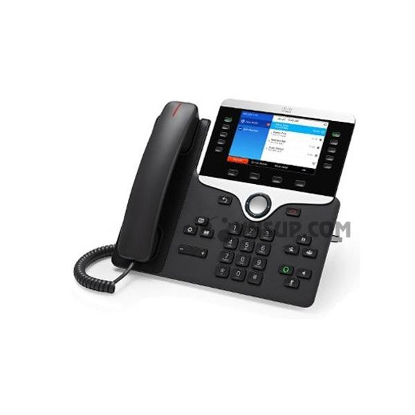 Điện thoại IP Cisco CP-8861 w / 5 dòng Mở-SIP & WiFi / USB / Bluetooth