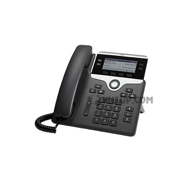 Điện thoại IP Cisco CP-7841 w / 4 dòng & Open-SIP