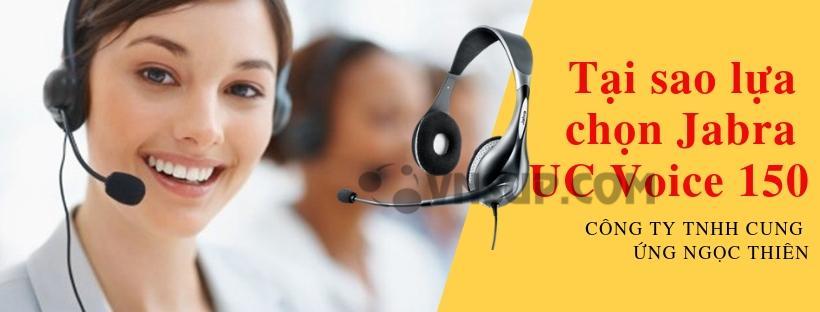 Tại sao lựa chọn Jabra UC Voice 150