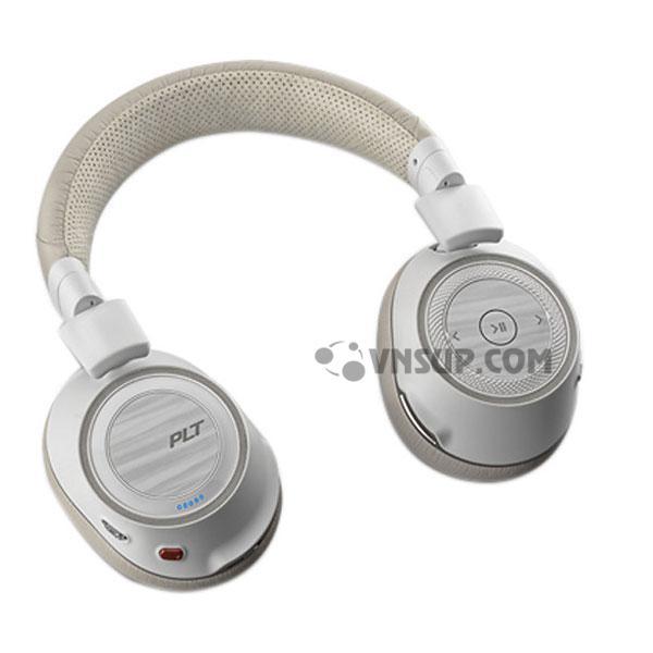 Tai nghe Plantronics Voyager B8200 - Màu trắng