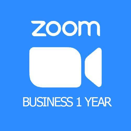 Bản quyền phần mềm họp hội nghị Zoom Business [Gói 1 năm]