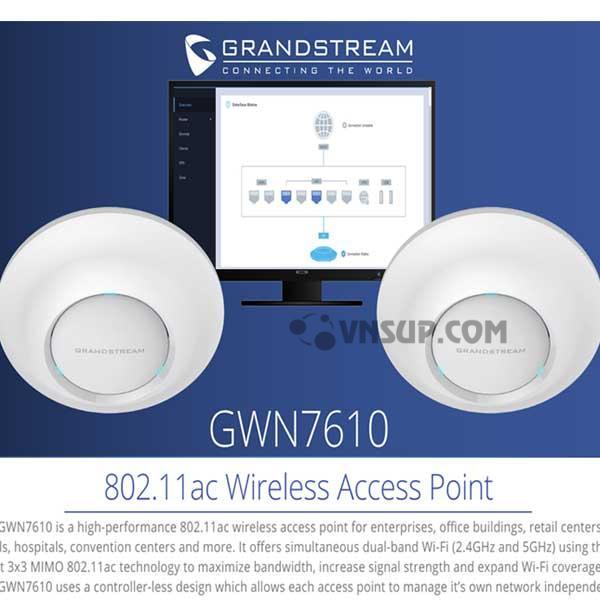 Thiết bị Wifi Access Point GWN7610