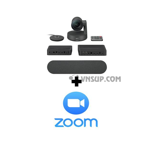 Combo Logitech Rally + Phần mềm Zoom