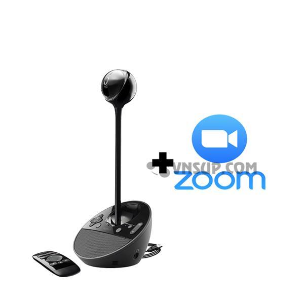 Combo Logitech BCC950 + Phần mềm Zoom