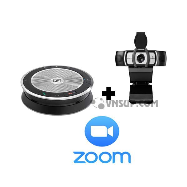 Combo Sennheiser SP30 + Logitech C930e + Phần mềm Zoom