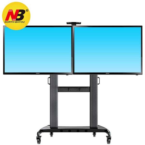 Giá treo tivi di động 2 màn hình NB AVT1800-60-2A
