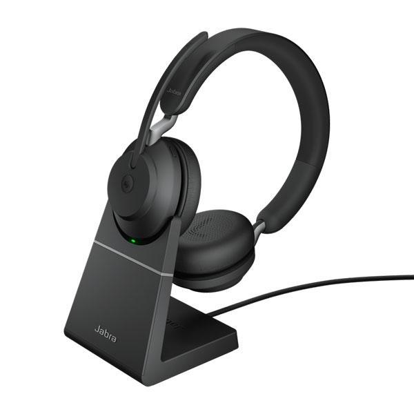 Tai nghe Jabra Evolve2 65 USB-A MS Stereo có Đế sạc