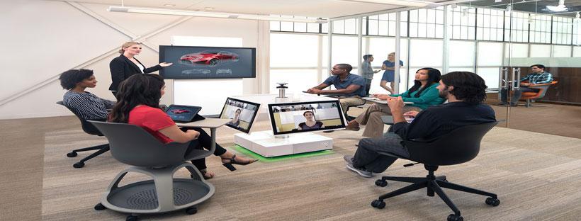 Giải pháp theo không gian phòng họp nhóm