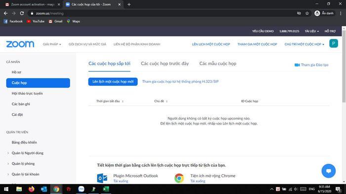 Thông báo: Zoom đã chính thức hỗ trợ Tiếng Việt trên trang chủ