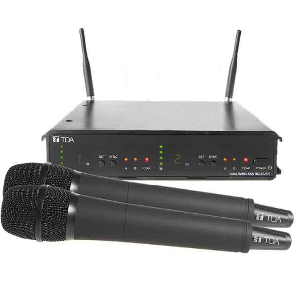 Bộ Micro Không Dây 2 kênh TOA WS-422- AS