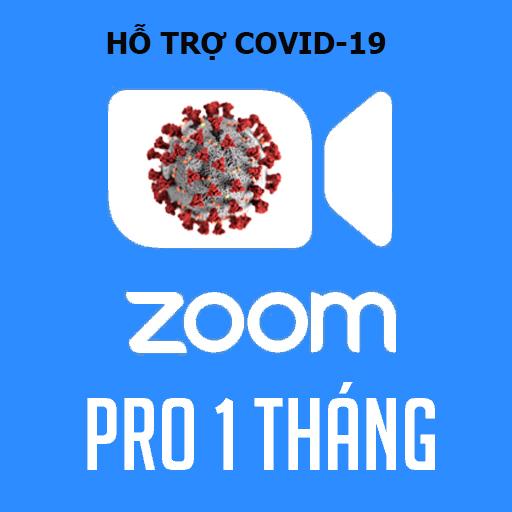 Bản quyền Zoom Pro – Gói 1 tháng (Hỗ trợ covid-19)