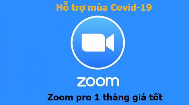 Hỗ trợ mùa Covid-19 cung cấp Zoom Meeting chính hãng giá tốt