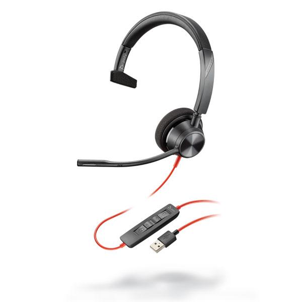 Tai nghe Plantronics Blackwire 3310, USB-A