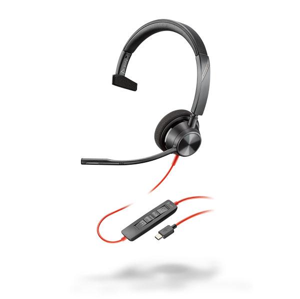 Tai nghe Plantronics Blackwire 3310, Microsoft, USB-C