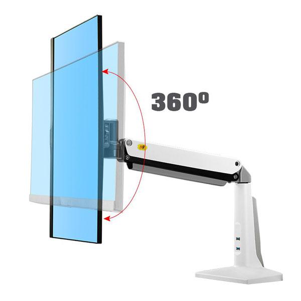 """Giá treo gắn bàn LCD F37 (24""""- 37"""")"""