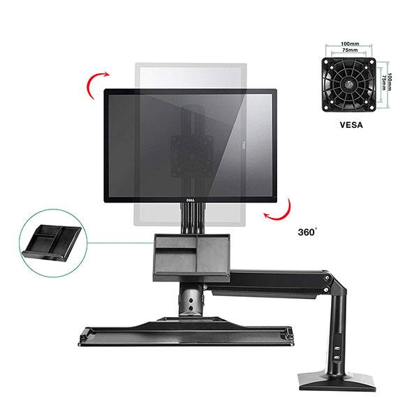 """Giá treo gắn bàn LCD FC 35A (22"""" - 35"""")"""