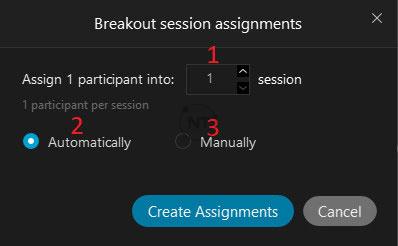 Bật phòng Breakout Rooms (phòng họp đột phá) trong webex meetings