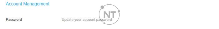 Thay đổi mật khẩu tài khoản trên webex meetings
