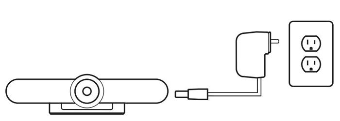 Cách kết nối Camera Logitech MeetUp