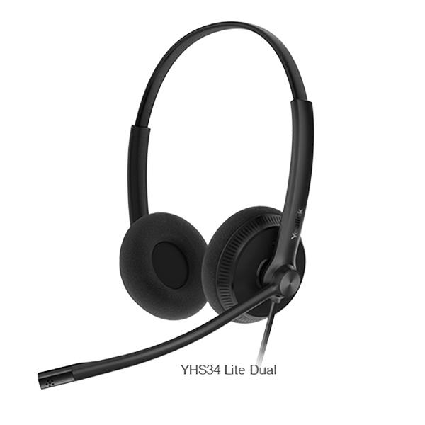 Tai nghe Yealink YHS34 & YHS34 Lite Dual
