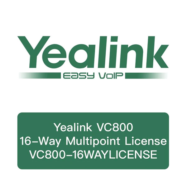 16-site Multipoint License cho VC800