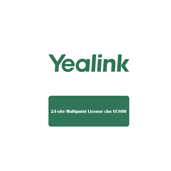 Yealink 24-site Multipoint License cho VC800