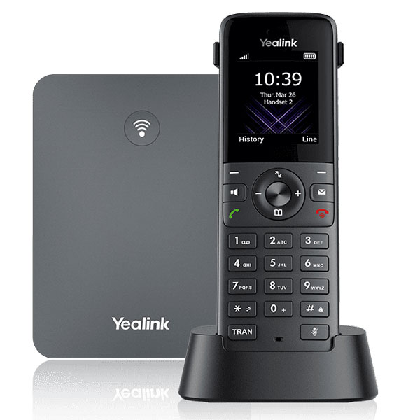 Yealink W73H tương thích hoàn toàn với các cơ sở DECT của các thiết bị single cell